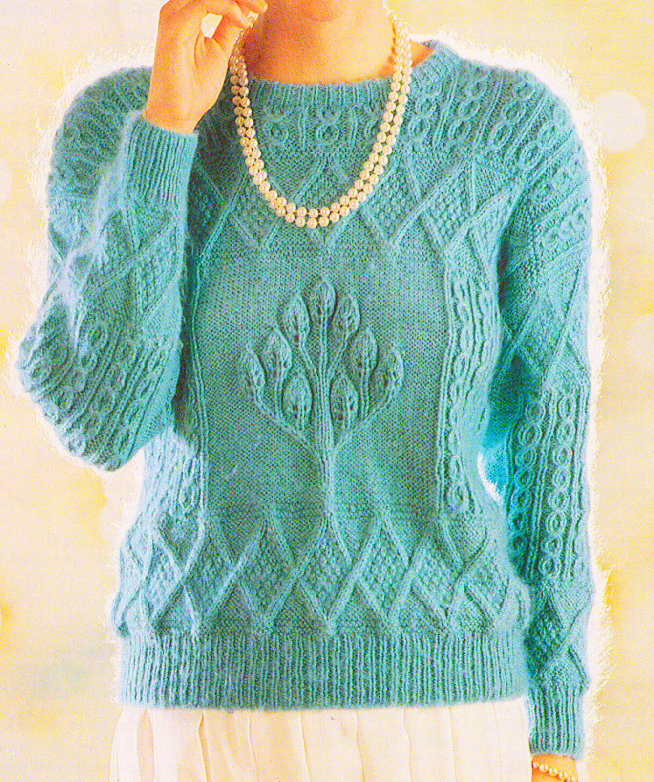 Fair Isle Sweater Womens