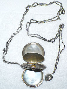 EXQUISITE-1895-ANTIQUE-800-SILVER-POCKET-WATCH-WELLAUSSLELLUNG-AMSTERDAM
