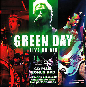 GREEN-DAY-Live-on-Radio-1992-CD-Woodstock-1994-DVD-The-Best-of-Early-Pop-Punk