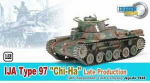 "Dragon Armor IJA Type 97 ""Chi-Ha"" Late Production~60435"