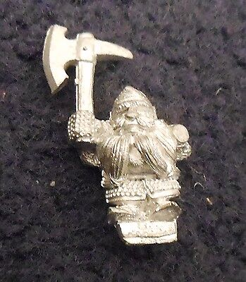 1990 Marauder Dwarf Iron Breaker MM16/19 Citadel Warhammer Iron Breakers MM16 GW