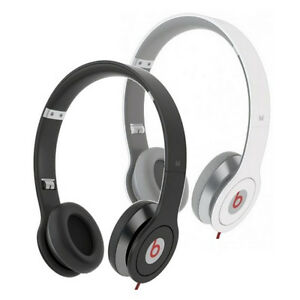 Monster-Beats-Solo-By-Dr-Dre-Controltalk-Headphones-On-Ear-White-or-Black