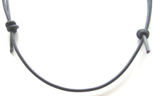 Leather Necklace Colour Choice Jewellery Accessory 40-70 cm Adjustable