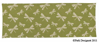 """Dragonfly Cotton Table Runner 13""""x36"""""""
