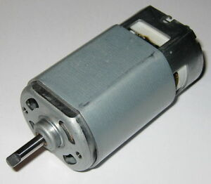 110 Vdc Johnson Electric Motor 11000 Rpm 12 Pole