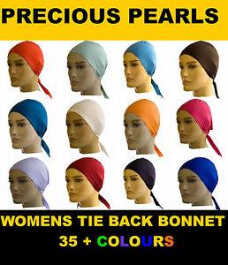 Bonnet-cap-tie-back-under-scarf-hijab-abaya-40-colours-lot-BUY-4-GET-1-FREE