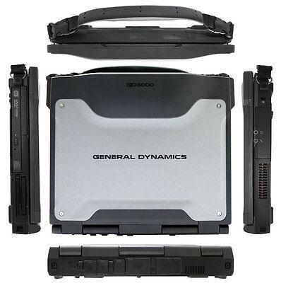 ITRONIX GD6000 2.53GHZ 4GB TOUGHBOOK LAPTOP 320GB RUGGED GENERAL DYNAMICS