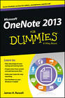 OneNote 2013 For Dummies by James H. Russell (Paperback, 2013)