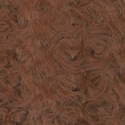 Schulte Curly-Sparse Mohair - braun gelockt  - 25 x 47 cm