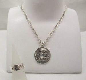 Vintage-Silver-Bolton-Wanderers-Football-Medal-Ring