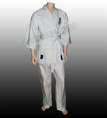 Karate Kyokushin Gi, Karate Kyokushin Uniform, Kyokushikai uniform 9 - 14 Ounce