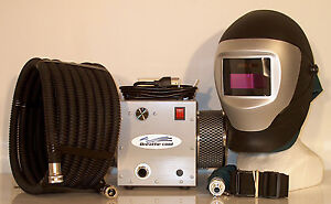 Supplied-air-respirator-w-auto-darkening-welding-helmet