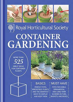 (Good)-RHS Handbook: Container Gardening (Royal Horticultural Society Handbooks)