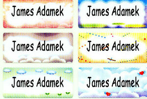 Iron-on-B-personalized-washable-name-label-sticker-tag-decal-daycare-nursing