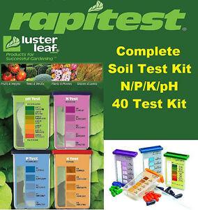 rapitest soil test kit instructions