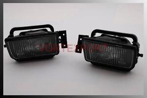 BMW-E34-89-95-Front-Fog-Light-L-R-5-Series-Smoke-Lens