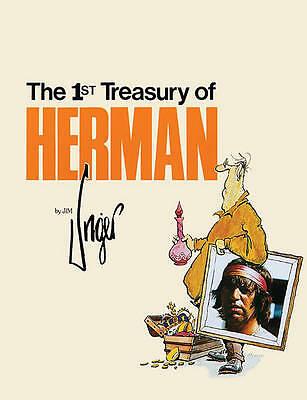 1st Treasury of Herman (Andrews & McMeel Treasury Series)-ExLibrary