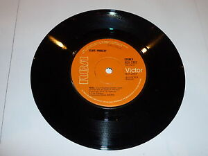 ELVIS-PRESLEY-Fool-1973-UK-solid-centre-7-034-vinyl-single