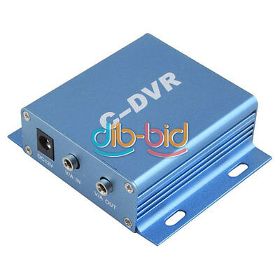 Mini C-DVR Video/Audio Recorder Motion Detection TF Card Recorder For IP Camera