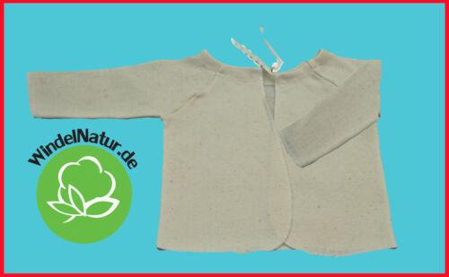Binde  Flügelhemd Baby Langarm  Baumwolle ASMi Erstlingsausstattung Pflege 3 St.