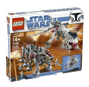 NEW-Lego-Star-Wars-10195-Republic-Dropship-with-AT-OT-SEALED