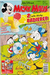 Micky-Maus-1996-45-Zustand-1-mit-Beilage