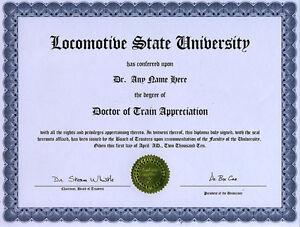 doctor train appreciation diploma model locomotive  image is loading doctor train appreciation diploma model locomotive