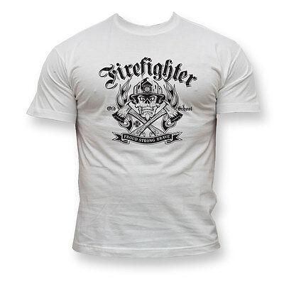 FIREFIGHTER TSHIRT FIRE-BRIGADE TSHIRTS