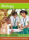 Biology CAPE Unit 1 A CXC Study Guide: A Caribbean Examinations Council Study Guide: Unit 1 by Caribbean Examinations Council, Richard Fosbery (Mixed media product, 2012)