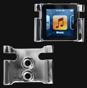 RIDERS-CLAW-CHROME-IPOD-NANO-6TH-GEN-6TH-GENERATION-HOLDER-4-HARLEY-DAVIDSON