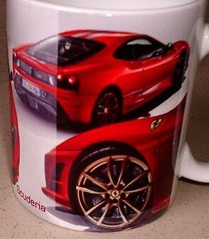 Ferrari F430 Scuderia Tribute MUG