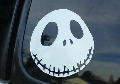 Nightmare Before Christmas Jack Skellington car window sticker decal