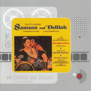 samson and delilah1950quiet mansoundtrack7 trackcd ebay