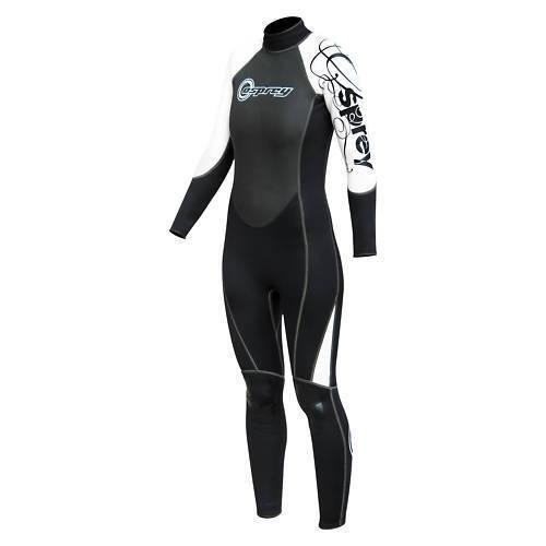 OSPREY OSX LADIES WOMENS 3MM FULL LENGTH WETSUIT bodyboard kayak diving jetski