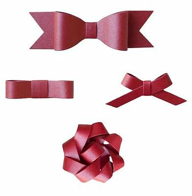 Lifestyle Crafts QuicKutz Gift Set KNOTTY Bows, Ribbon, Wrapping, 6 Dies -GS0001
