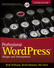 Professional WordPress: Design and Development by David Damstra, Brad Williams, Hal Stern (Paperback, 2013)