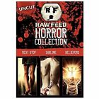 Raw Feed Horror Collection (DVD) (DVD, 2008, 3-Disc Set)