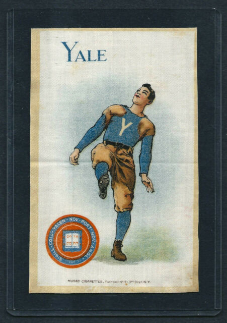 S22 SMALL MURAD TOBACCO SILK YALE FOOTBALL