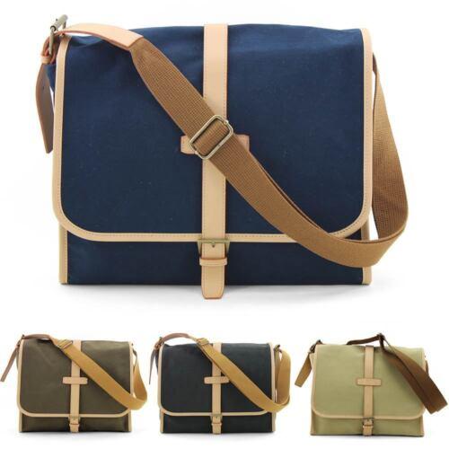 unihood Brand New Mens Messenger Bag Casual Canvas Shoulder Cross Bags