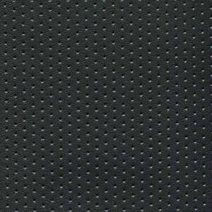 Black Perforated Naugahyde Marine Seating Upholstery Vinyl