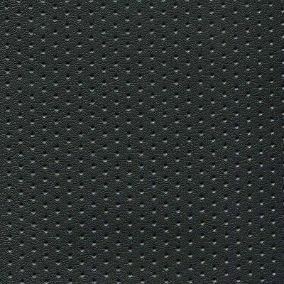 Black Perforated Naugahyde Marine Seating/Upholstery Vinyl 4 Yds