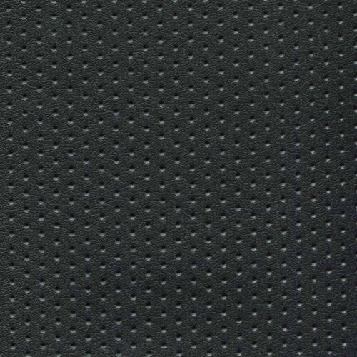 Black Perforated Naugahyde Marine Seating/Upholstery Vinyl 4 Yds