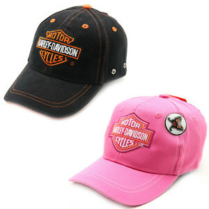 Youth-Size-Harley-Davidson-Baseball-Hat-Ball-Cap-Hat-Assorted-Styles