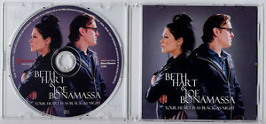 BETH HART amp JOE BONAMASSA Your Heart Is As Black As Night UK 2trk promo test CD - <span itemprop=availableAtOrFrom>WE SHIP WORLDWIDE, United Kingdom</span> - Returns accepted Most purchases from business sellers are protected by the Consumer Contract Regulations 2013 which give you the right to cancel the purchase within 14 days afte - WE SHIP WORLDWIDE, United Kingdom