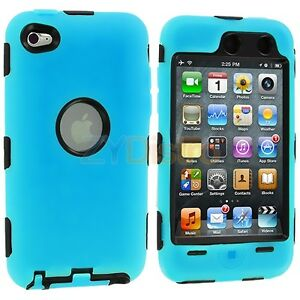 DELUXE-BABY-BLUE-3-PIECE-HARD-SKIN-CASE-FOR-IPOD-TOUCH-4-4G-4TH-GEN-PROTECTOR