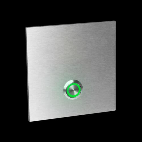 hochw LED Edelstahl  Klingel Türklingel 405U Klingelplatte