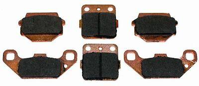 Front & Rear Semi-Metallic Brake Pads 1985-1988 Suzuki Quadsport 230 LT-230S