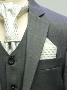 Boys-Grey-Page-Boy-Suits-Italian-Design-Prom-Wedding-Party-Kids-Gray-Suit