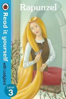"""""""AS NEW"""" , Rapunzel - Read it yourself with Ladybird: Level 3, Paperback Book"""