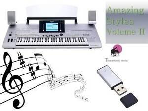 TYROS 3 USB-Stick+AMAZING Song Styles VOLUME 2 NEW